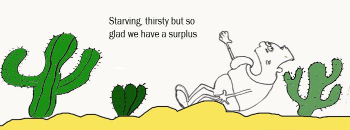 Are we still in surplus?